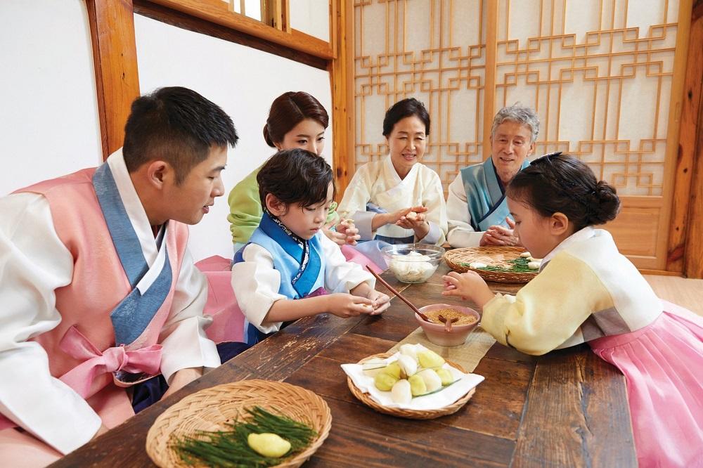 Chuseok Day in Korea