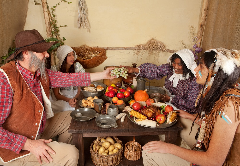 The History Of Thanksgiving In America