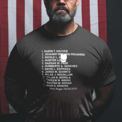13 Fallen Soldiers Shirt Remember Their Names