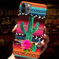 Desert Cactus Rose Phone Case