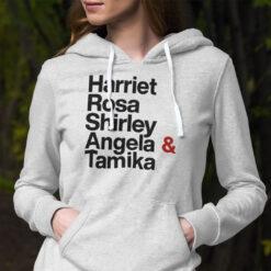 Harriet Rosa Shirley Angela Tamika Hoodie Black Lives Matter