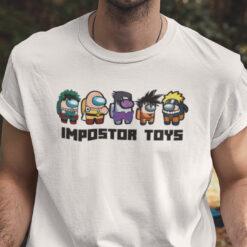 Impostor Toys Shirt Among Us