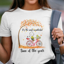 It's The Most Beautiful Time Of The Year Snoopy Autumn Shirt