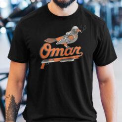 Omar Orioles Shirt Michael K. Williams Legends Never Die