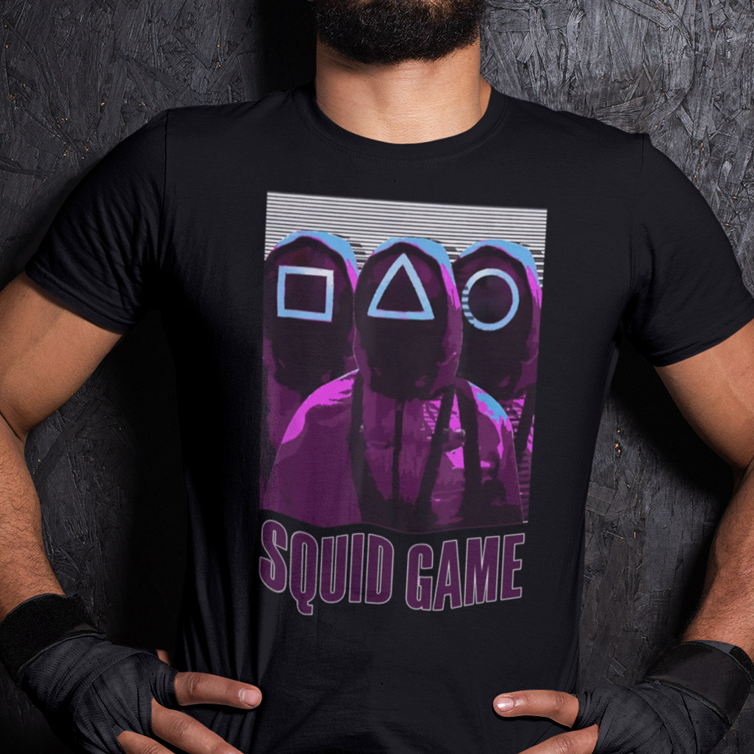 Pink Guards Squid Game Shirt