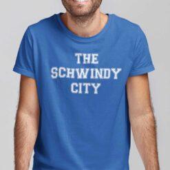 Schwindy City T Shirt Baseball Tee