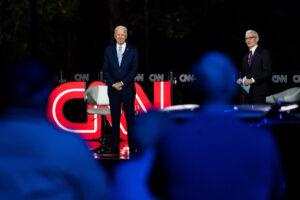 Biden mocks freedom on vaccine mandates at CNN town hall