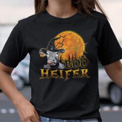 Boo Heifer Halloween T Shirt