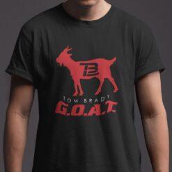 Brady Goat Shirt Tom Brady Goat TB12
