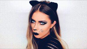 cat makeup ideas for Halloween