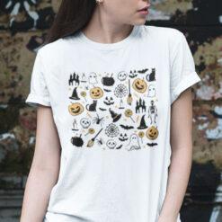 Halloween Icons Shirt I Love Halloween