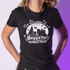 I'm Dreaming Of A Hogwarts Christmas Shirt Harry Porter Christmas Tee