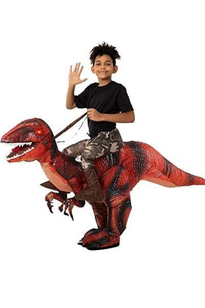 Kids' Raptor Rider Costume