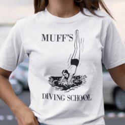Muff's Diving School Shirt Adult Muff Diver Tee