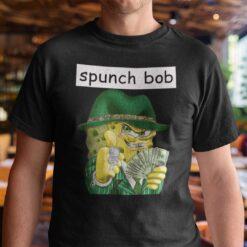 Spunch Bob Shirt Gangster Spongebob Meme