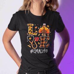 Turkey Love Thanksgiving Shirt CMA Life