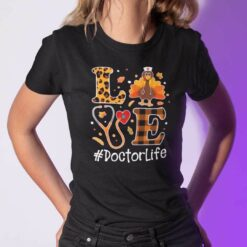 Turkey Love Thanksgiving Shirt DoctorLife