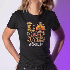 Turkey Love Thanksgiving Shirt EMTLife