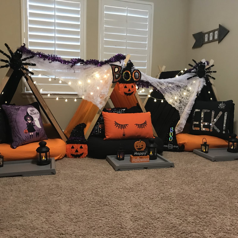 What to do on Halloween as a teenager- slumber party