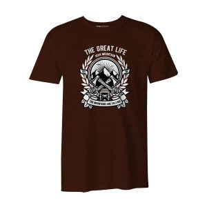 Axe T Shirt Brown