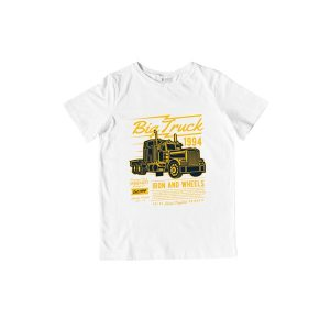 Big Truck TShirt White