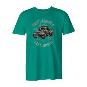 Built Stronger T Shirt Mint