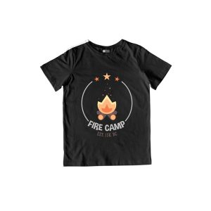 Fire Camp T-Shirt Black