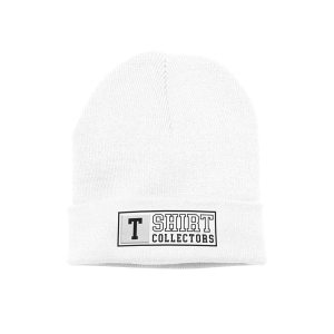 TShirt Collectors Beanie White