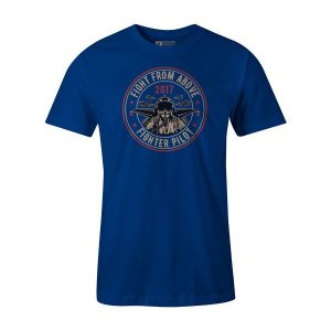Death From Above T Shirt Royal