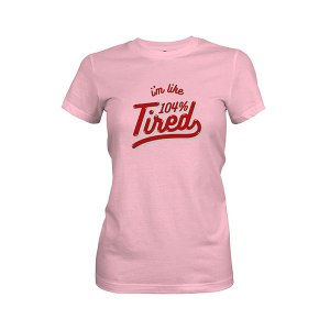 104 Tired T shirt light pink