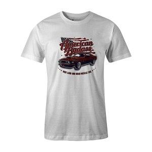 American Badass T shirt white