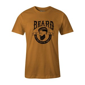 Beard Is A Gift You Give To Your Face T shirt ginger