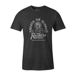 Death or Glory T shirt heather charcoal