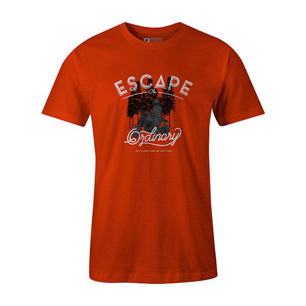 Escape The Ordinary T shirt orange