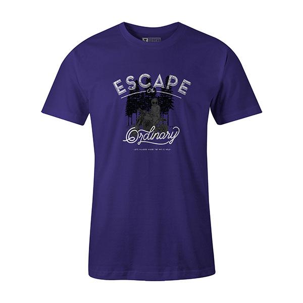 Escape The Ordinary T shirt purple
