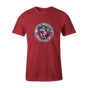 Hardcore Lifter T Shirt Heather Red