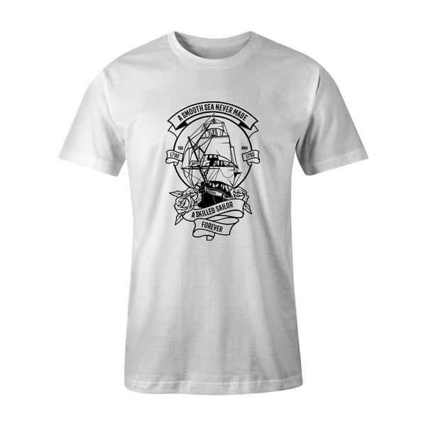 A Skilled Sailor T Shirt White