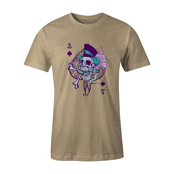 Ace of Spades T shirt natural