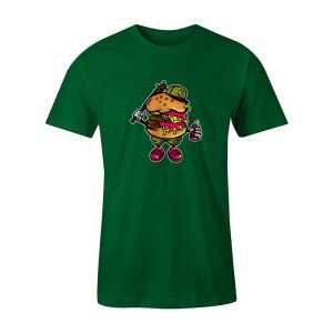 Burger Bastard T Shirt Kelly