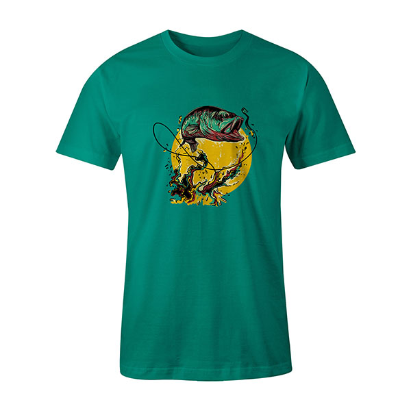 Fly Fishing T shirt mint