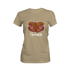Gemini T shirt light olive
