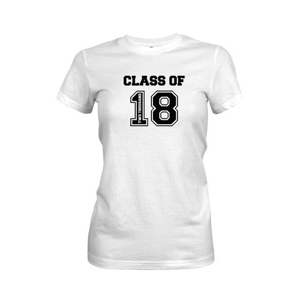 Class of 2018 T Shirt White