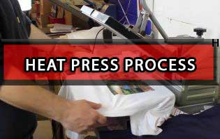 Heat Press Process