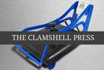 Clamshell Heat Press