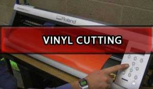 Vinyl Cut Printing Method