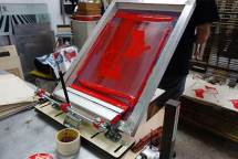 screen printed materials