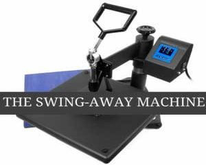Swing Away Heat Press