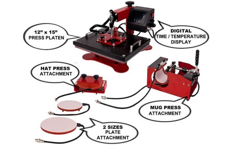 USCutter Digital Heat Press Machine