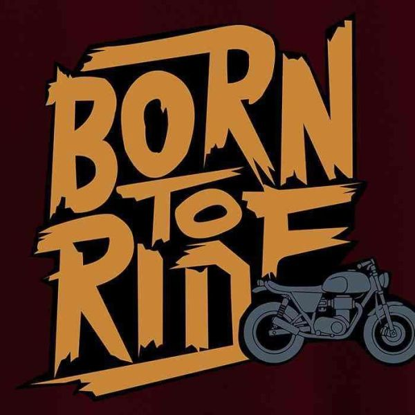 Men's T-shirts (Born To Ride)
