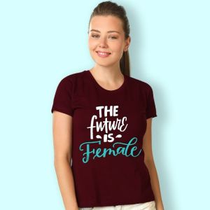 Women T-shirts (The future is female)